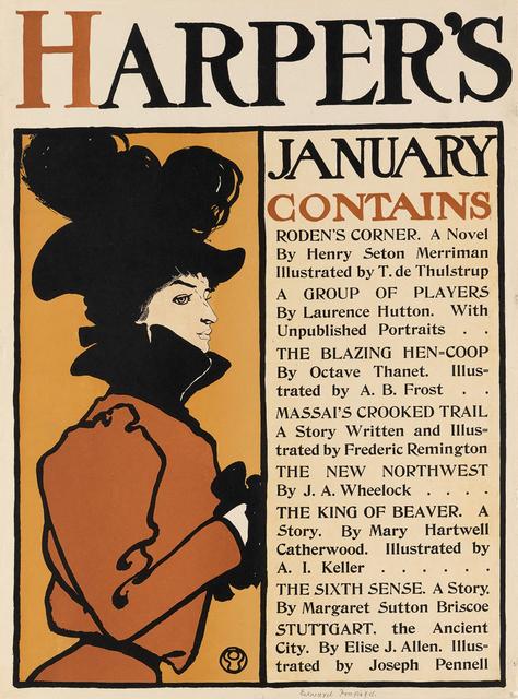 , 'Harper's January 1896,' 1898, Omnibus Gallery