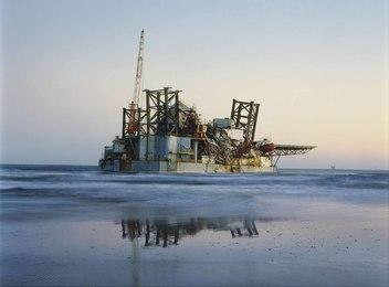 Ocean Warwick Oil Platform, Dauphin Island, Alabama