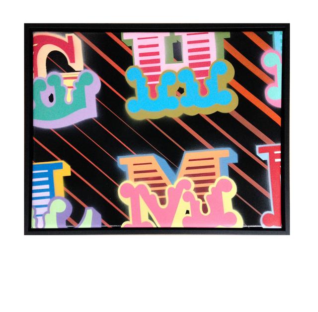, 'G, H, L, M,' 2015, StolenSpace Gallery