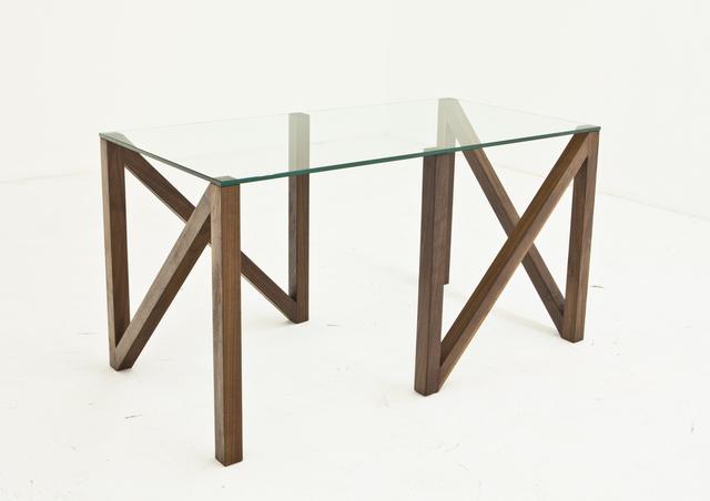 , 'Zither Table (shown as desk),' 2012, Nina Johnson
