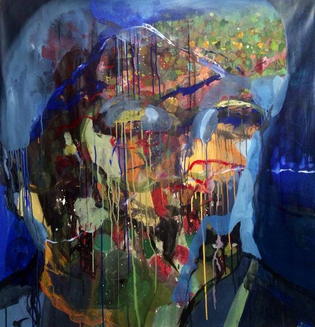 , 'Portrait (from Nile River Reflection),' 2015, Shazar Gallery