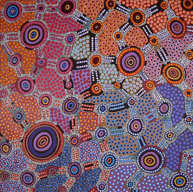 , 'Jennifer Napaljarri Lewis - Desert Fringe-rush Seed Dreaming #1098-17ny,' , Flinders Lane Gallery