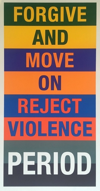 , 'Reject Violence ,' 2017, Vellum Projects