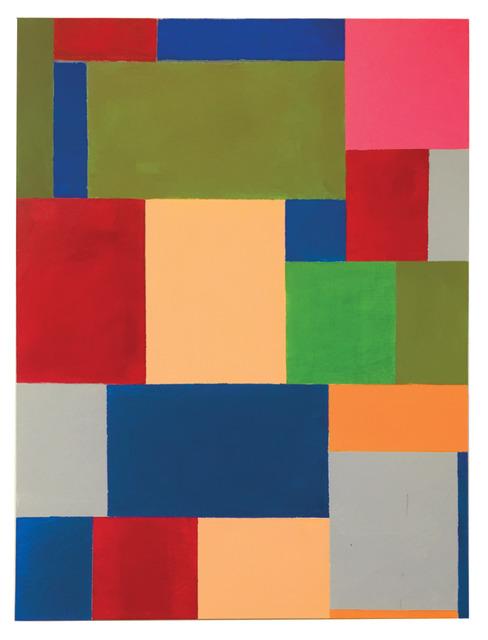 Thornton Willis, 'pink square', 2021, Painting, Acrylic on canvas, Elizabeth Harris Gallery