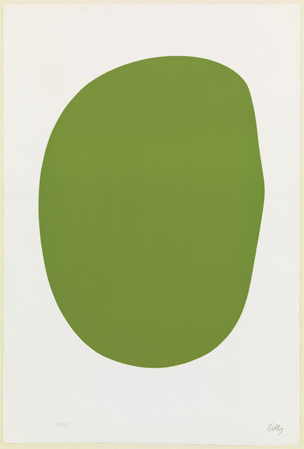 , 'Green (Vert) from Suite of Twenty-Seven Color Lithograph,' 1964-1965, Robert Fontaine Gallery