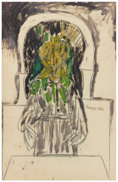 , 'Untitled (Priest at Altar),' 1966, Aicon Gallery