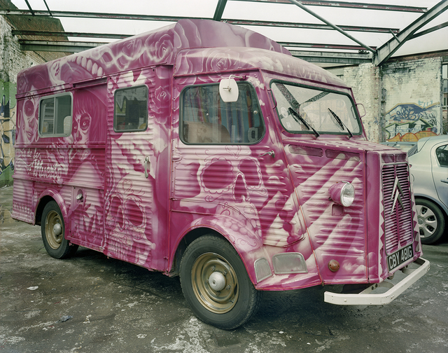 , 'Luardo's #2 Taco Truck Parked in Storage, Dalston, London, UK,' 2013, Robert Klein Gallery