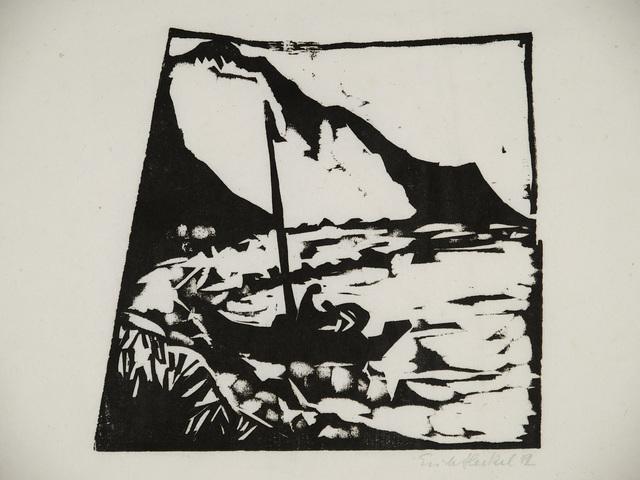 , 'Boot am Ufer,' 1912, Henze & Ketterer