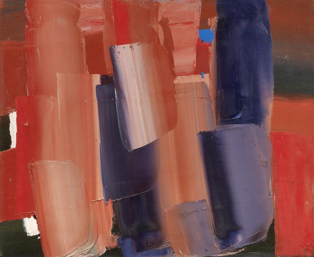 , 'Composizione rosa,' 1960, Matteo Lampertico