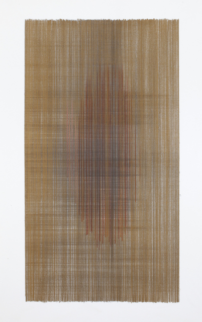 Anne Lindberg, 'likewise the shadows #07', 2017, Drawing, Collage or other Work on Paper, Graphite & colored pencil on rag paper, Haw Contemporary