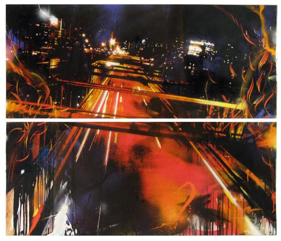 , 'BK (Dyptich),' 2011, Woodward Gallery