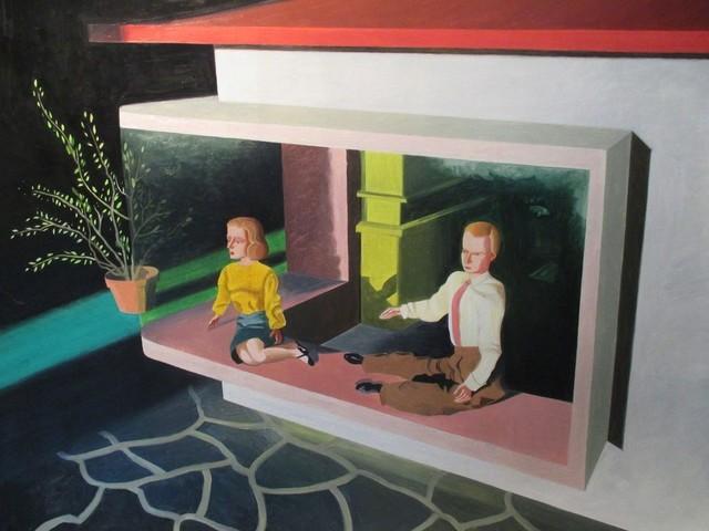 , 'Two in Window,' 2017, Susan Eley Fine Art