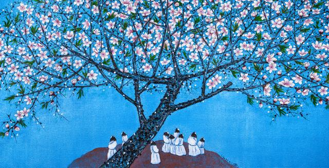 , '桃花园里 Peach-Blossom Spring,' 2014, Art WeMe Contemporary Gallery