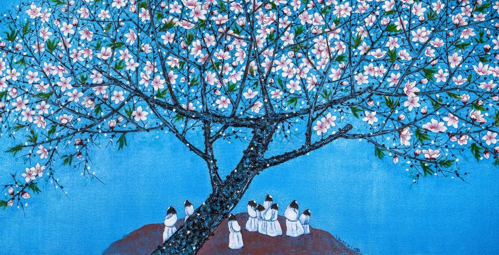 桃花园里 Peach-Blossom Spring