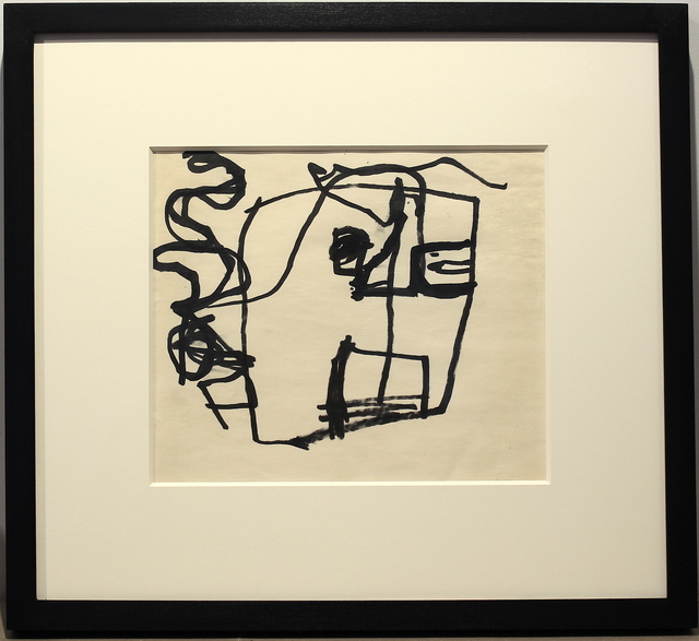 , 'Study of a Head,' 1947-1949, Woodward Gallery