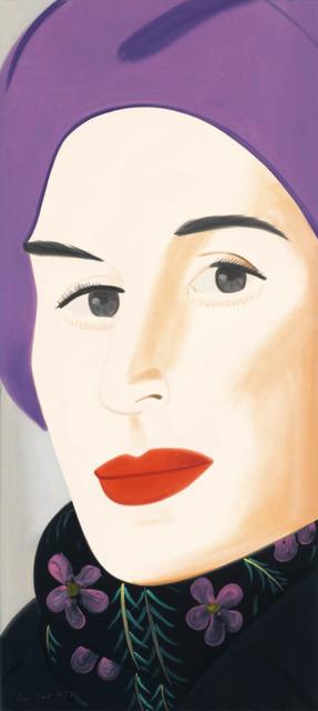 Alex Katz, 'Purple Hat (Ada)', 2017, Galerie d'Orsay