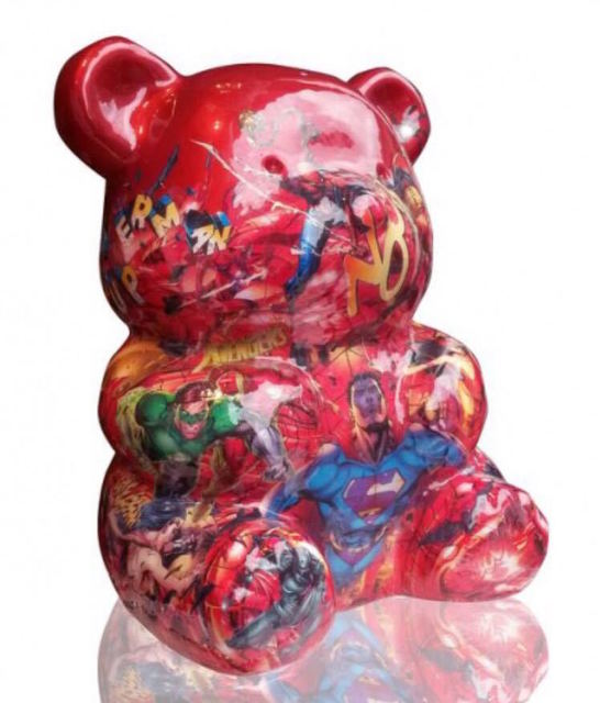 Natalie Laudon, '(ATH) Red Nounours', 2016, ARTION GALLERIES
