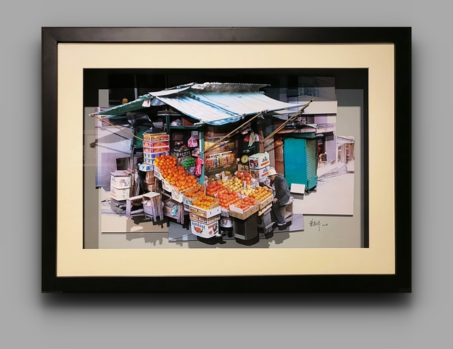 , 'Fruit Stall (Central, Hong Kong),' 2018, Blue Lotus Gallery