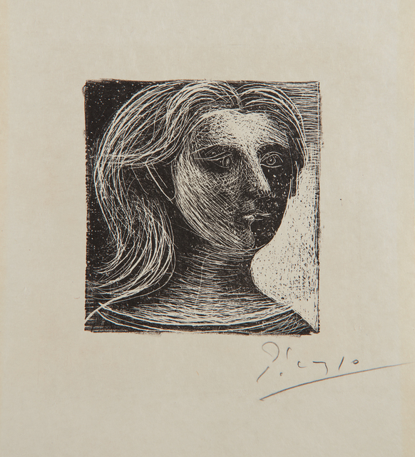 Pablo Picasso, 'Tête de femme (Head of a Woman), from Picasso, dessins (Picasso, Drawings)', 1925, Phillips