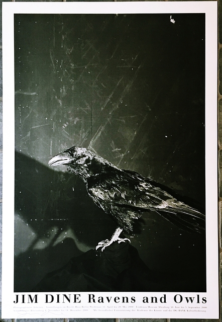, 'Raven and Owls (Hand Signed),' 2000, Alpha 137 Gallery