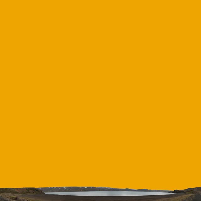 , 'Black Lake, Orange Sky / Kleifarvatn,' 2012-2013, C. Grimaldis Gallery