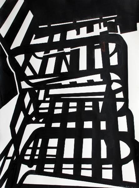 , 'Black & White chair 1,' , Space 776