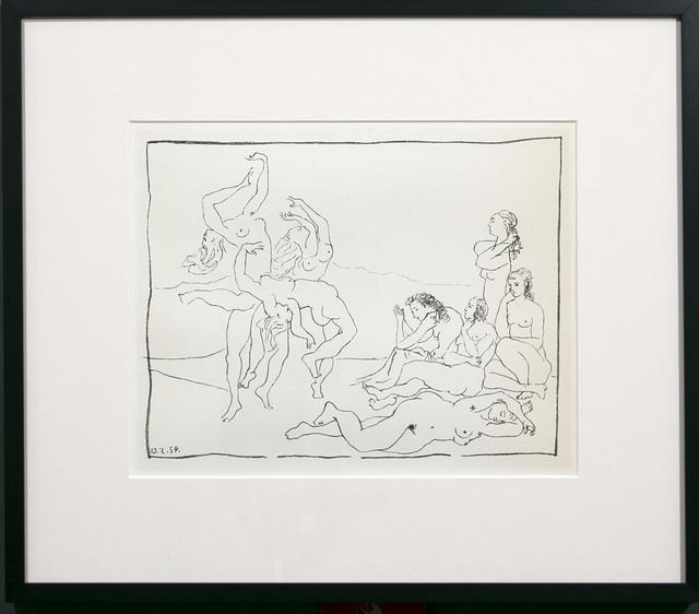 Pablo Picasso, 'DANCES', 1956, Reproduction, Lithograph, White Cross