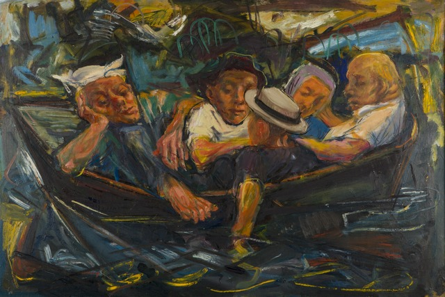 , 'Men in Boat,' ca. 1958, Childs Gallery