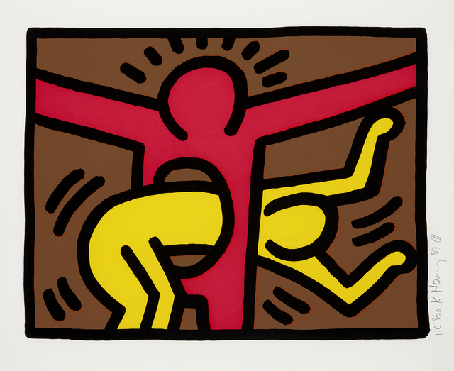 Keith Haring, 'Pop Shop IV', 1989, RAW Editions