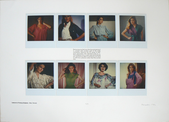 , 'Lessons in Posing Subjects: (Fist Errors),' 1982, Rhona Hoffman Gallery