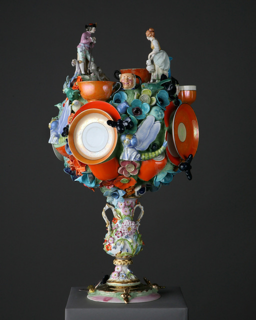 Joan Bankemper, 'The Farmers', 2018, Sculpture, Ceramic, Nancy Hoffman Gallery