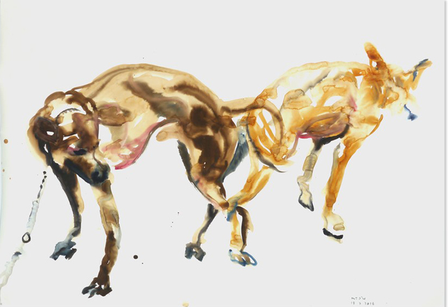 , 'Two dogs 3,' 2016, galerie nichido / nca | nichido contemporary art
