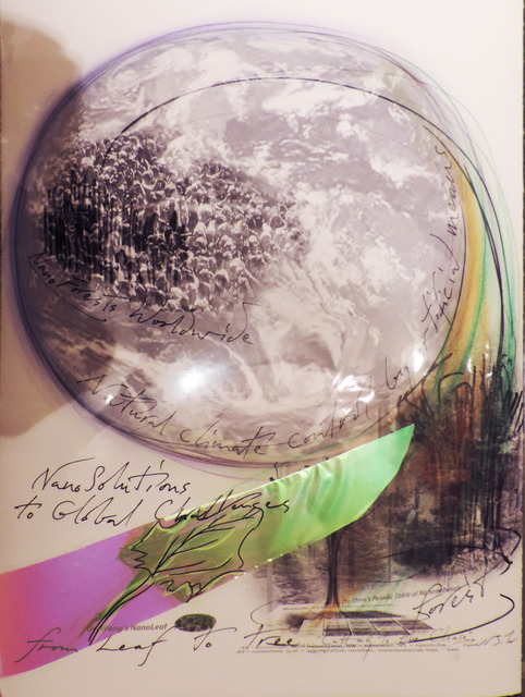 , 'NanoSolutions To Global Challenges: Cut to the Chase in ClimateChange through Artificial Photosynthesis,' 2012-2013, Ronald Feldman Gallery
