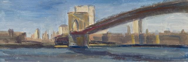 , 'The Brooklyn Bridge,' 2015, Grenning Gallery