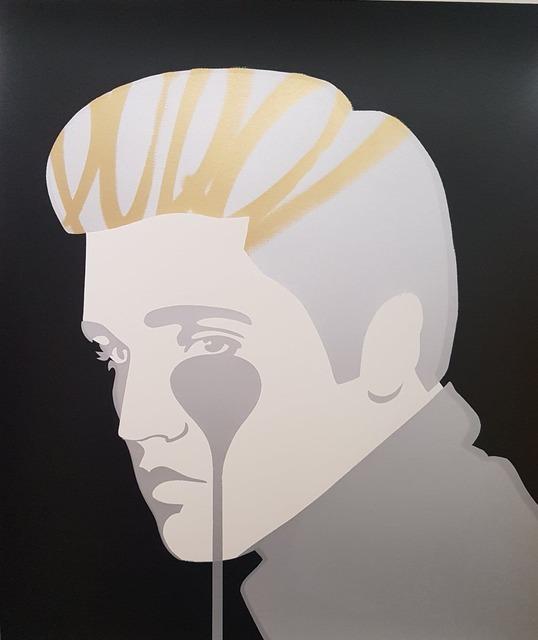 Pure Evil, 'Elvis's Nightmare - Golden Greats', 2015, Hidden