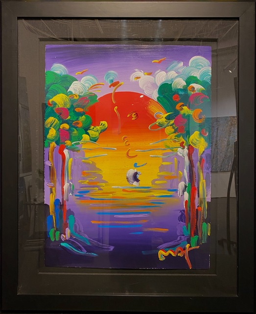 Peter Max, 'Better World ', 2020, Painting, Original acrylic on paper., Off The Wall Gallery