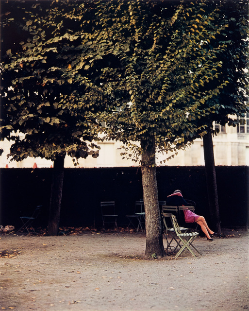 , 'Jardin de Luxembourg, Couple, Paris,' 1967, Danziger Gallery
