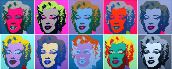 Sunday B. Morning, 'Marilyn Suite by Andy Warhol ', Marcel Katz Art