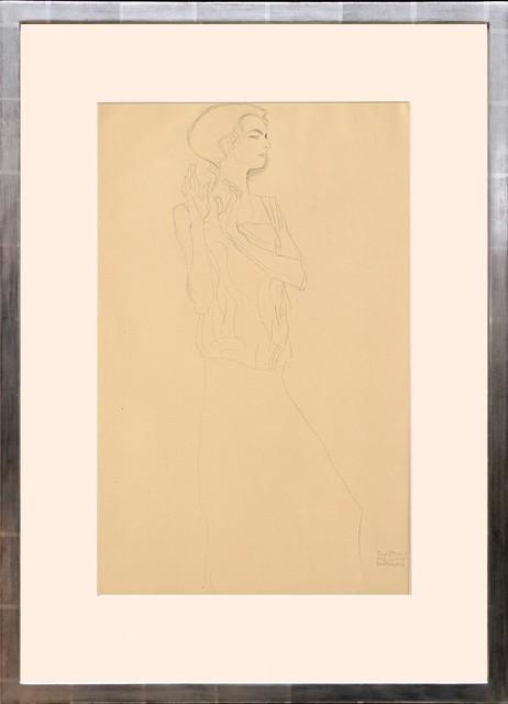 Gustav Klimt, 'Skizze zu einem Fries im Palais Stocklettes, Brüssel. (Sketch of a Frieze in the Palace Stock Lette, Brussels.)', 1919, Peter Harrington Gallery