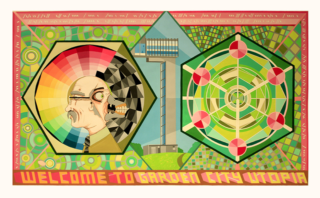 , ''Welcome to Garden City Utopia',' 2016, MARS