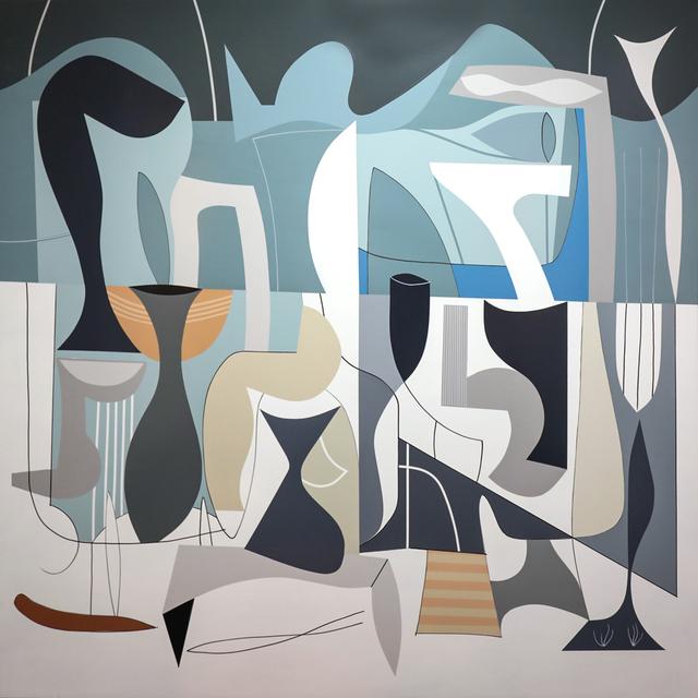 , 'Unfold,' , Moberg Gallery