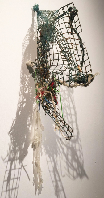 , 'Big Fish Trap,' 2015, Diana Lowenstein Gallery