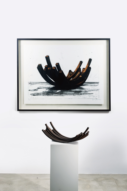 Bernar Venet, '97.5° ARCx14  (2 works)', Seoul Auction