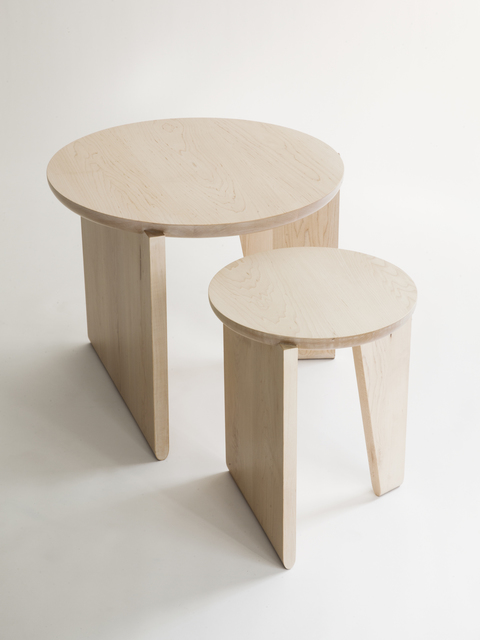 Egg Collective, 'Wu Side Table / Stool', Contemporary, Egg Collective