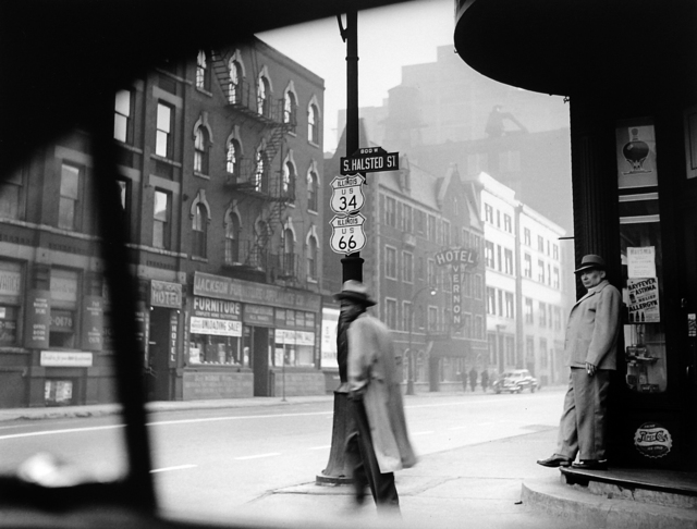 , 'Halsted Street, Chicago, 1949,' , Monroe Gallery of Photography