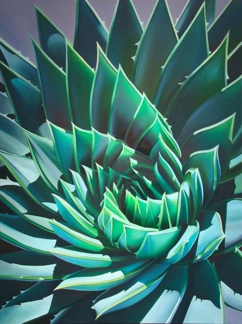 ", '""Santa Barbara Swirl, Symmetrical Aloe"",' 2017, Bonner David Galleries"