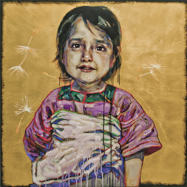 Hung Liu, 'Little Farmhand III', 2018, Turner Carroll Gallery