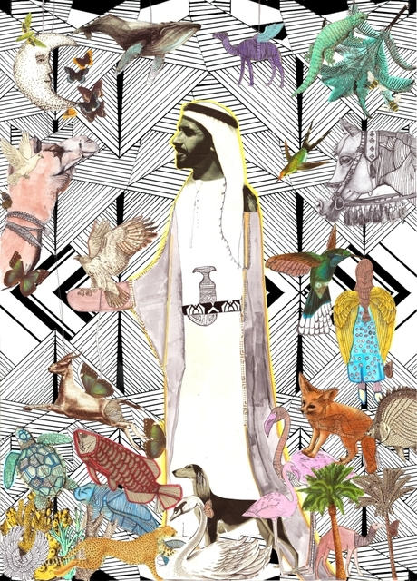 , 'The great ruler, Sheikh Zayed Bin Sultan,' 2016, Hunar Gallery