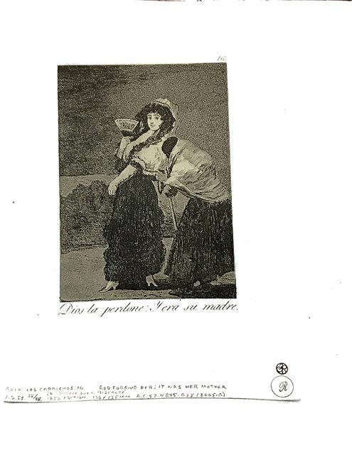 Francisco de Goya, 'Dios la perdone -Y era su madre', 1951, Broadway fine Art