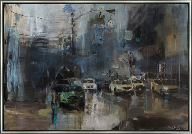 Marilyn Borglum, '37 Degrees, Northbound Traffic', Merritt Gallery